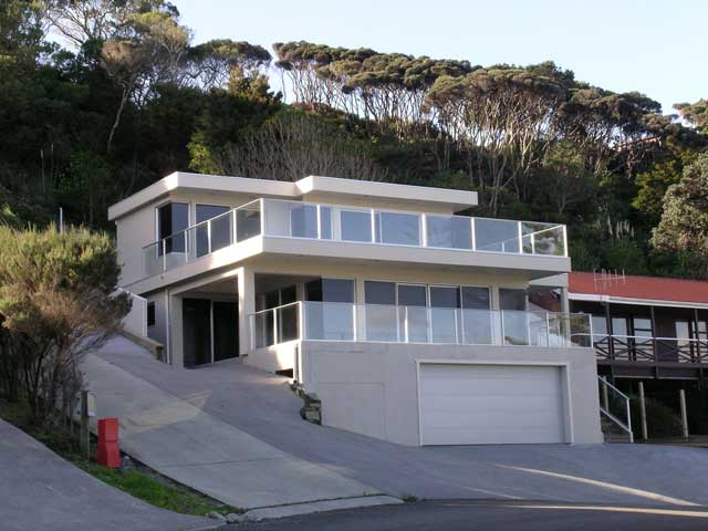 Home plans steep hillside for Hillside home designs
