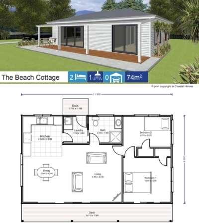 Coastal Homes Beach Cottage